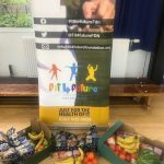 Free fruit and veg and healthy food from Fareshare for the children at the Fit 4 Future Foundation Holiday Activities Camp