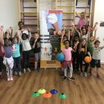 All the children grouped together at the Fit 4 Future Foundation Summer 2018 Holiday Activities Camp