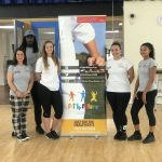 Team Fit 4 Future Foundation Staff members and volunteers at Fit 4 Future Foundation Holiday Activities Camp