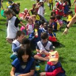 Children enjoying their time at the Fit 4 Future Foundation Holiday Activities Camp