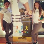 Vedrana Dapic and Kornelia Zuikate, Team Fit 4 Future Foundation Activity Assistants at the Fit 4 Future Foundation Holiday Activities Camp