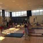 Children doing gymnastics at the Fit 4 Future Foundation Holiday Activities Camp
