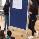 Work Experience placement students teaching the rules to the children at the Fit 4 Future Foundation School Holiday Activities Camp