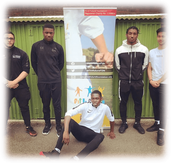 BTEC students from Lambeth Academy during the Fit 4 Future Foundation School Holiday Activities Camp at All Saints Primary School